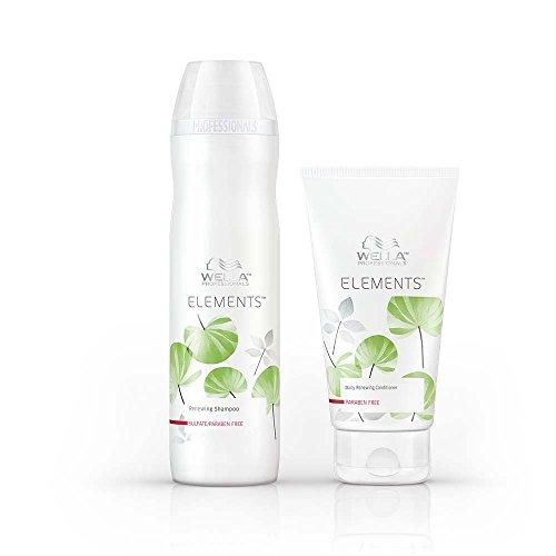 Wella Elements Shampoo und Spülung, 250ml und 200ml
