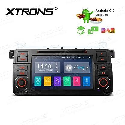 XTRONS-7-Android-Autoradio-mit-Touchscreen-Android-90-Quad-Core-DVD-Player-Full-RCA-Ausgang-WiFi-4G-Bluetooth-2GB-RAM-16GB-ROM-DAB-OBD2-Lenkradsteuerung-DAB-OBD-FR-BMW-E46Rover-75MG-ZT