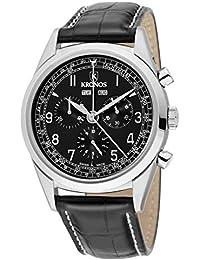Kronos - First Class Chronograph Complete Calendar Black 963.55 - Reloj de Caballero de Cuarzo,
