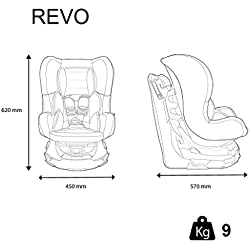 Siège Auto Pivotant REVO 360°, Groupe 0+/1 (de 0 à 18 kg)