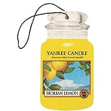 Classic Car Jar Yankee Candle–Perfume Sicilian Lemon–Ambientador auto