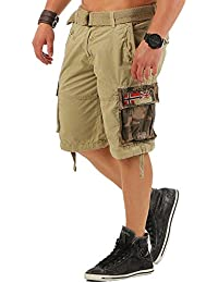 Geographical Norway Paragone Herren Cargo Shorts Bermuda Sommer kurze Hose Pants