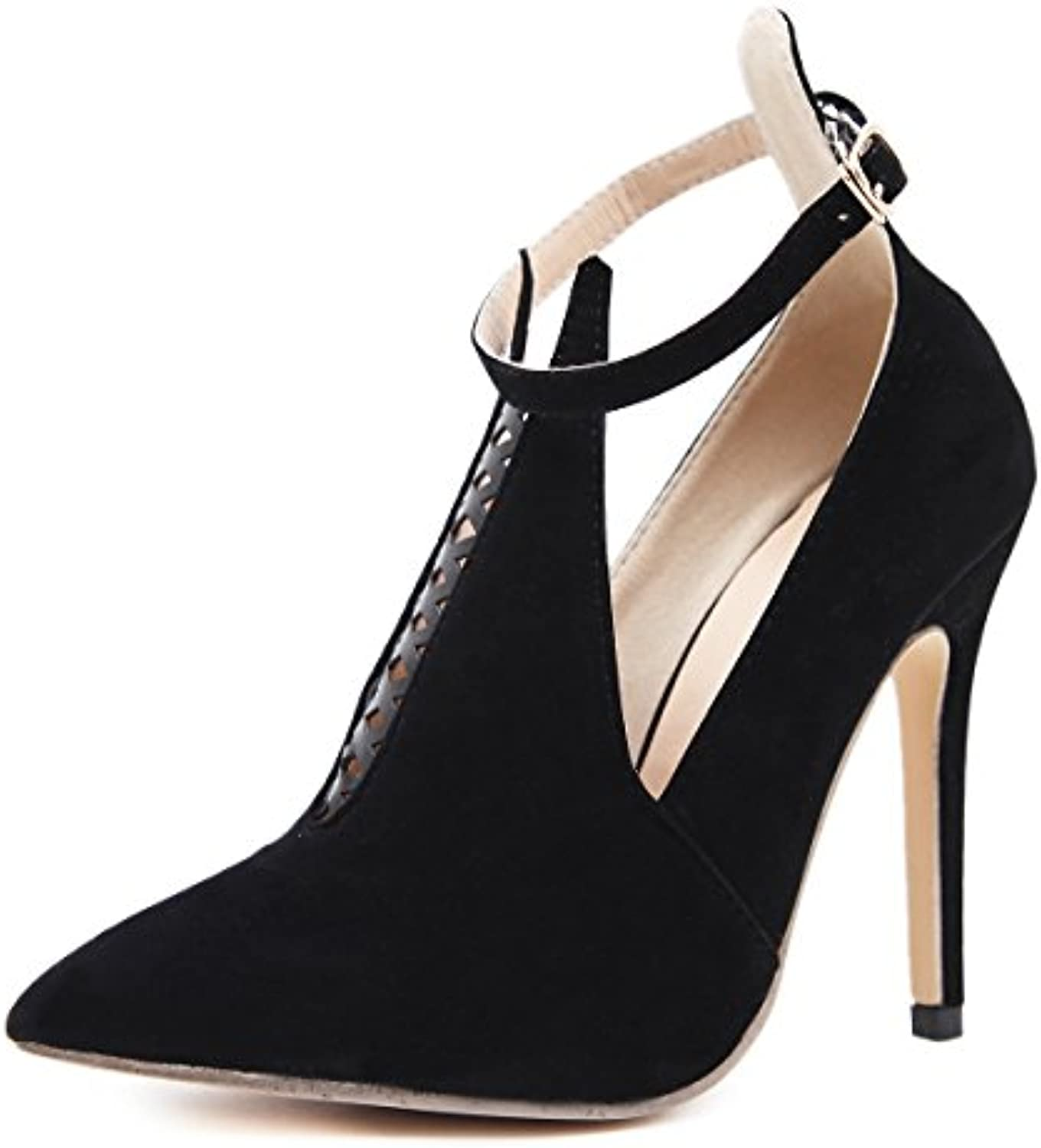 ed088aa62f8 ZHZNVX The new high-heeled sandals early spring spring spring new high  heels fashion tip buckle women s shoes fine with v-high-heel.