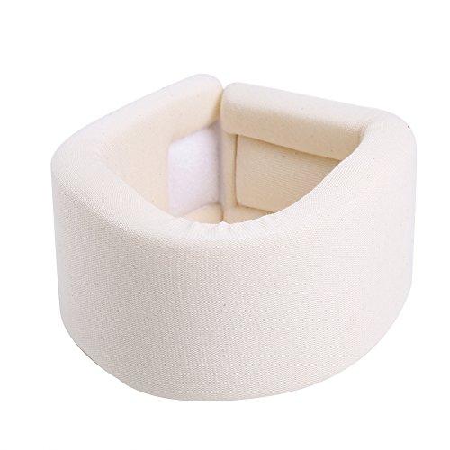 Verstellbare Soft Foam Neck Brace,Verstellbare Halskrause Unterstützung Soft Foam Dislokation Fixierung Schmerzlinderung Halskrause(M)