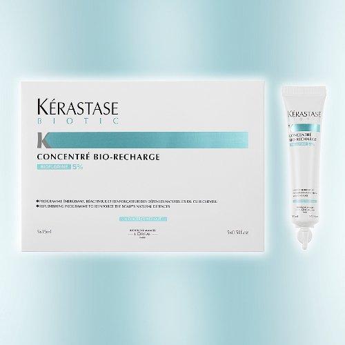 Kérastase, Biotic Concentrè, Bio-Recharge, 5x15 ml