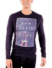 LOIS - Camiseta Axel Roses, Hombre