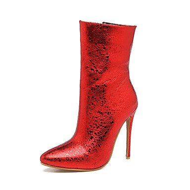 Women's Boots Fashion Boots Winter Leatherette Wedding Party & Evening Stiletto Heel...