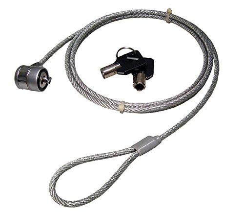 C63®Laptop-Sicherheitskabel mit Zylinderschloß Mit 2 Schlüsseln. -