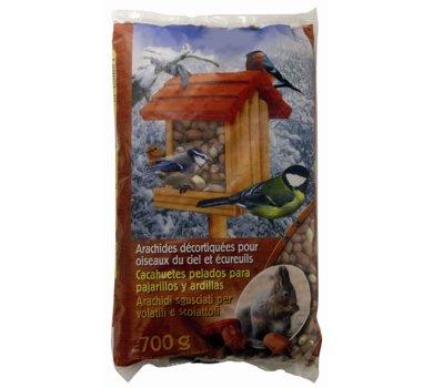 Agrobiothers Nourriture Arachides Décortiquées pour Oiseaux et Animaux Sauvages 700 G
