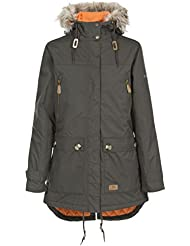 Trespass Women's Clea Padded Waterproof Parka Jacket