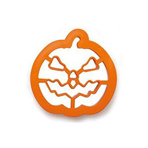 Stampino tagliapasta in pvc Zucca pumpkin Halloween