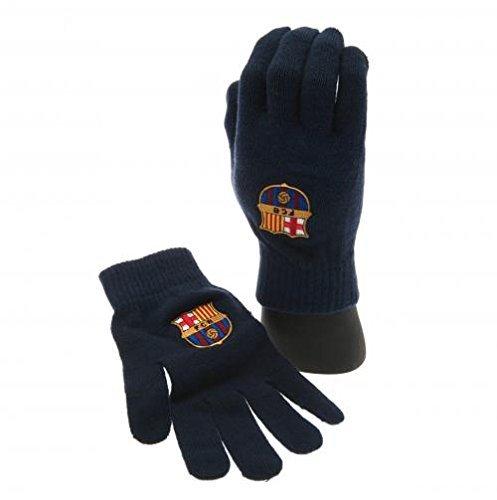 Barcelona Unisex Core Strick Handschuhe, Marineblau -