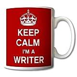 Keep Calm I'm A Writer Mug Cup Gift Retro