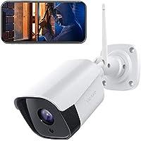 Victure FHD 1080P Caja Metálica Cámara IP de Vigilancia WiFi Exterior con Detección de Movimiento con Visión Nocturna Impermeable IP66 Audio de 2 vías compatible con IOS / Android