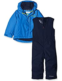 Columbia Buga, Mono y chaqueta, Unisex Niños, Azul (Super Blue/Collegiate Navy), 4T