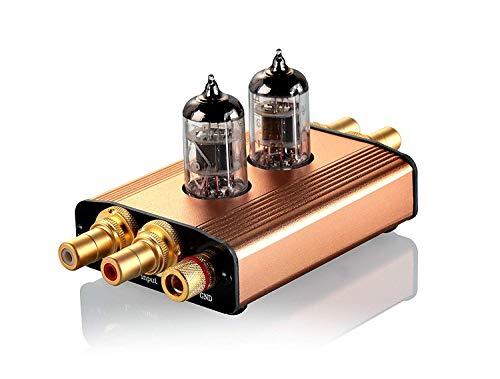 Nobsound HiFi MSingle-Ended Class A Vacuum Tube MM Phono Turntable Preamplifier Pre-AMP Stereo Plattenspieler Vorverstärker (Tube Amp Pre Vacuum)
