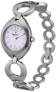 Festina Damen-Armbanduhr XS Trend Analog Quarz Edelstahl F16616/3