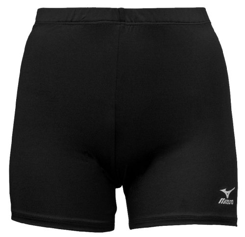 Mizuno Volleyball-Shorts Vortex, Damen, 440202.9090.04.S, Schwarz, S