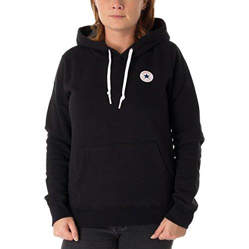 Converse Sweater Damen CORE Hoodie 10004543 Schwarz 001, Größe:M