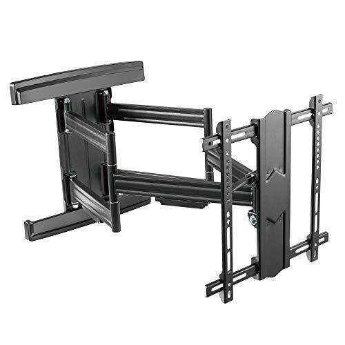 RICOO TV Wandhalterung S7544-B für 55-100 Zoll (ca. 140-254cm) Schwenkbar Neigbar Wand Halter Universal Fernseh Aufhängung Halterung auch für Curved LCD & LED Fernseher | VESA 200x100 400x400 Schwarz