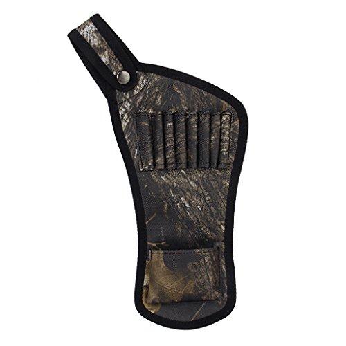 Ultralight Im freien Jagd Bogenschießen Bow Pfeil Taschen Halter Gürtel Köcher Rohre Riemen -