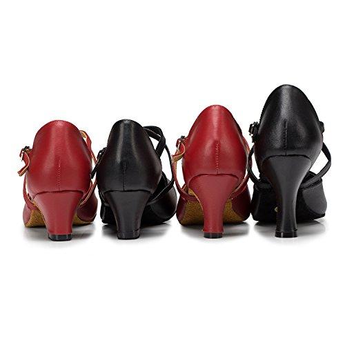 Miyoopark , Salle de bal femme Burgudy-6cm heel