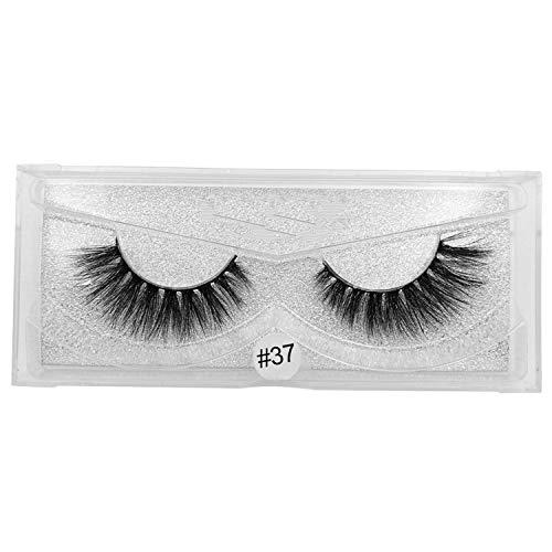 real silver card 3d ciglia lunghe morbide naturali ciglia spesse estensione ciglia finte ciglia finte singole maquiagem 40 *, come mostrato