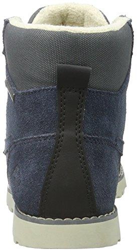 Viking Unisex-Kinder Kjenning Jr Combat Boots Blau (Dark Blue/Charcoal 7677)