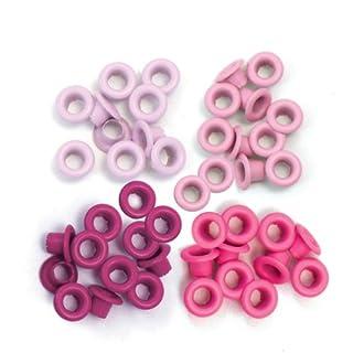 We R Memory Keepers Ösen zum Basteln, pink, Standard