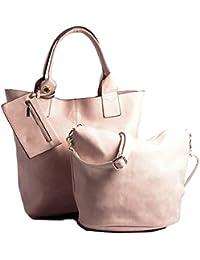 BHBS Mesdames Designer 3 en 1 fourre-Shopper et Make up à Main 44x38x10 cm (LxHxP)