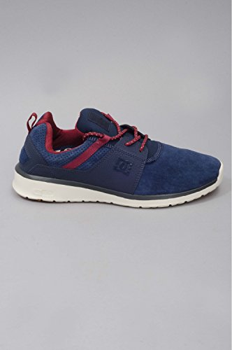 Dc Shoes - Chaussures Skateshoes Homme Heathrow Le - Taille:one Size Bleu - Navy/Red