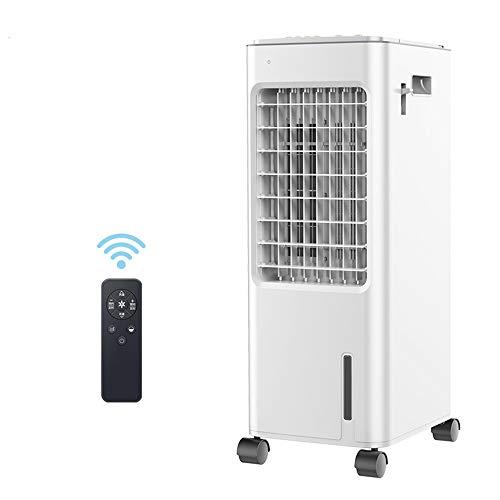 JIAYUAN Ventilatoren Verdunstungsluftkühler Luftbefeuchter mit Fernbedienung Klimaanlage Lüfter 3 Modi, 3 Geschwindigkeit Energiesparende Indoor Home Office 80W