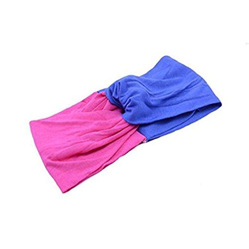 G FOR U.DE Mode Frauen Stirnband Beauty Headwraps Haarbänder Bandanas Mädchen Haarschmuck bequem für Yoga Sport von TheBigThumb