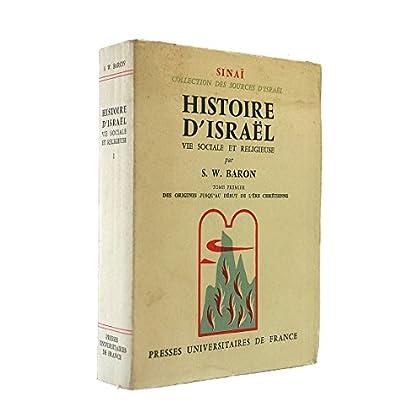 Histoire d'israël. vie sociale et religieuse.