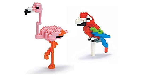 Macaw Red Green Nanoblock NBC 034