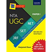 2019 Latest Syllabus - NTA UGC NET / SET / JRF - Paper 1 Teaching and Research Aptitude with December 2018 Paper