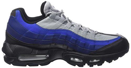 Nike Herren Air Max 95 Essential Sneaker Mehrfarbig (Black/white-binary Blue-deep Royal-game)