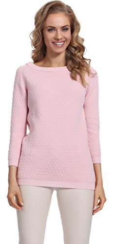 Merry Style Damen Pullover Maya (Puderrosa)