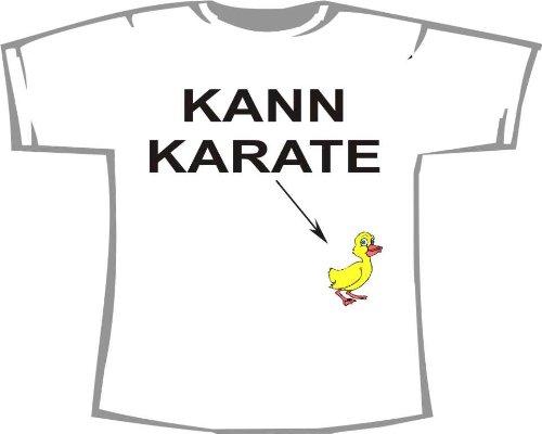 Kann Karate; T-Shirt weiß, Gr. S