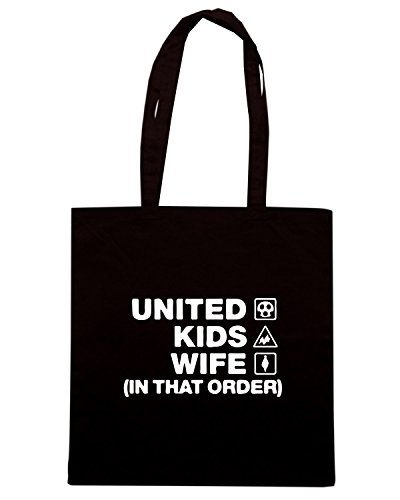 T-Shirtshock - Borsa Shopping WC1134 carlisle-united-kids-wife-order-tshirt design Nero