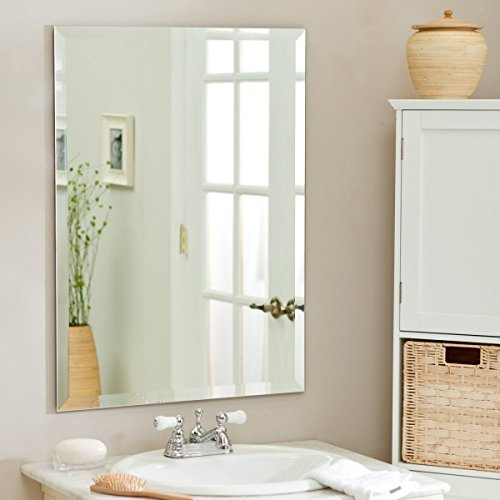 SDG Frameless Bathroom Mirror