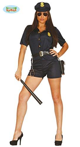 sexy Polizistin Kostüm für Damen Gr. M/L, Größe:L
