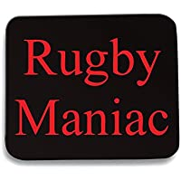 Cotton Island - Tappetino Mouse Pad TRUG0135 rugby maniac logo,