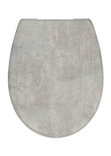 Cedo Design WC Sitz Loft mit Absenkautomatik Softclose Classic, Abnehmbar mit Takeoff Original Abnahmefunktion; aus Duroplast für ovale Keramiken mit Befestigung von Unten