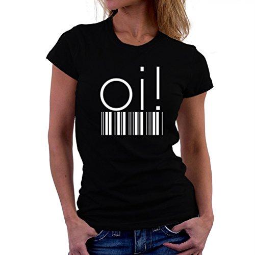 Maglietta da donna Oi! barcode