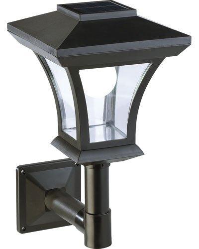Lampadaire de jardin solaire à LED mural [Lunartec]