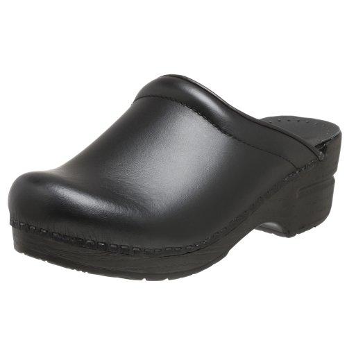 Dansko Sonja Box Leather Clog