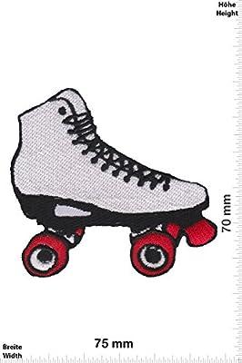 Patch-Iron-Rollerskate - Rollschuh - - Fun - - Iron On Patches - Aufnäher Embleme Bügelbild Aufbügler