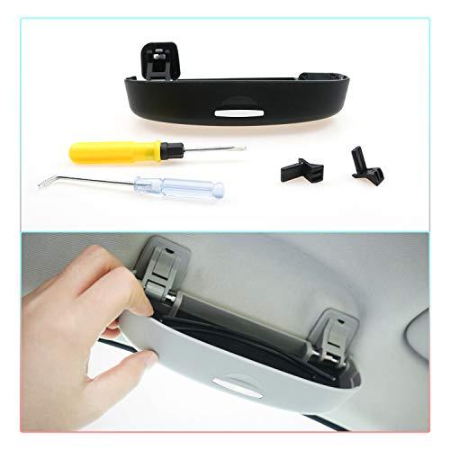 CDEFG Auto Coche Gafas Caja Organizador Gafas Sol