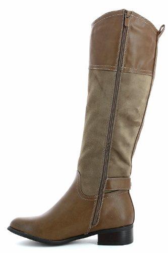 Tendência Taupe Botas Boots Bege Ir E Ankle aBwp78